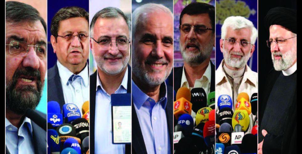 الرئاسيات الإيرانية .. خيارات المرشحين السبعة بين السياسة والاقتصاد