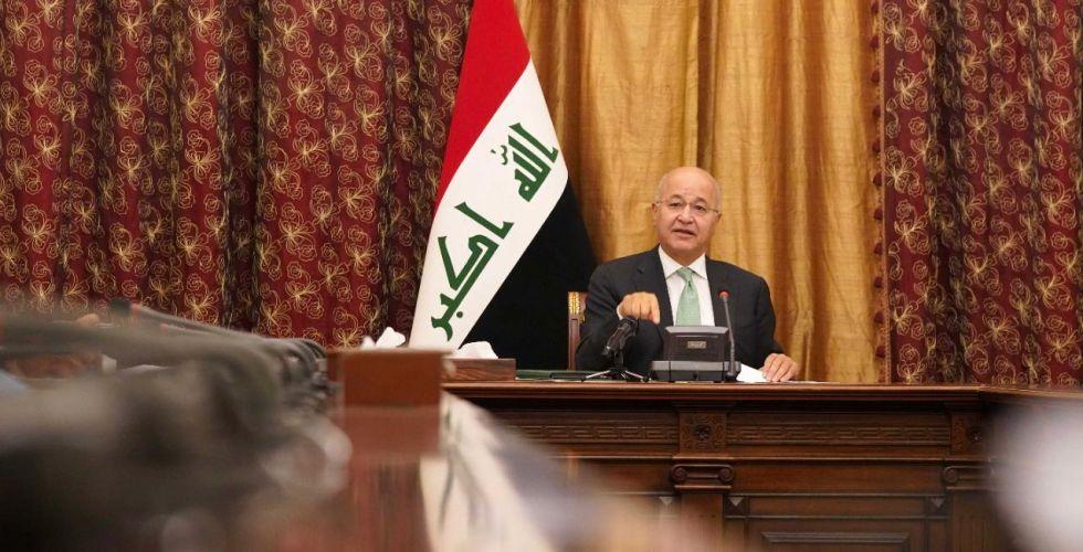برهم صالح: الانتخابات المقبلة اختبار مهم للمسار الديمقراطي