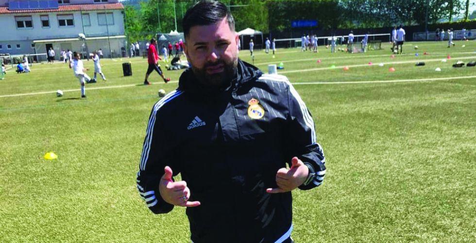 محمد نوري: اعتزّ بتجربتي الحالية في أكاديمية ريال مدريد