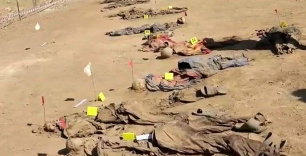 مقبرة جماعيَّة في نينوى تضمّ رفات نزلاء سجن بادوش