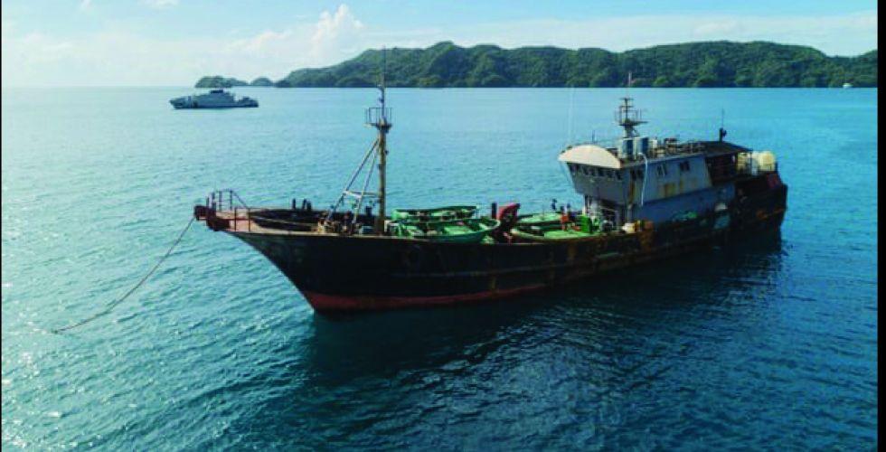 الصين وموارد المحيط الهادئ