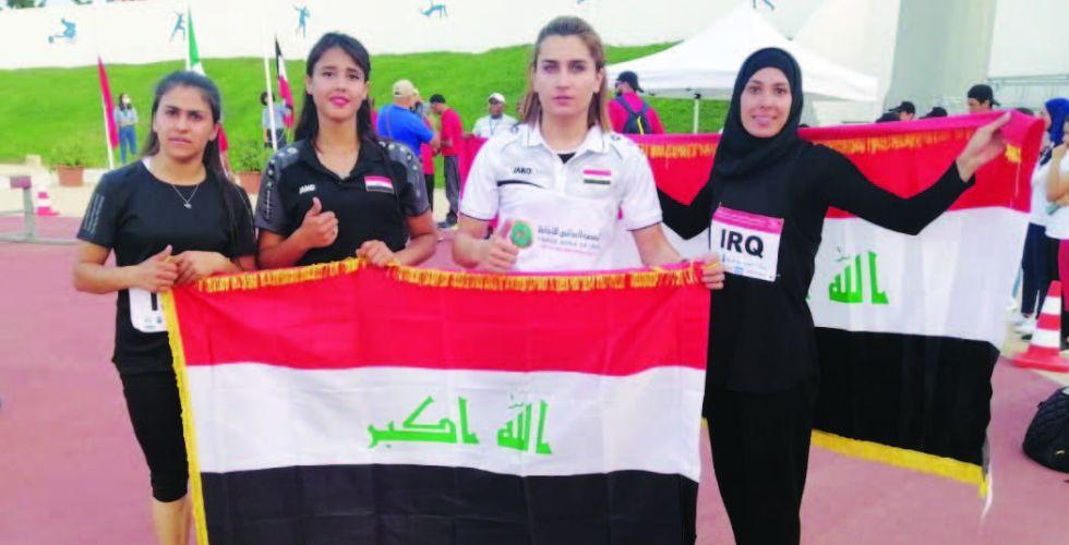 3   أوسمة جديدة لألعاب القوى في البطولة العربية