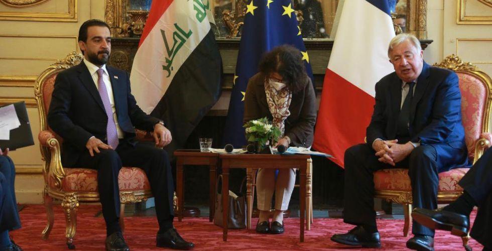 الحلبوسي يدعو لفتح مقر للوكالة الفرنسية للتنمية في بغداد
