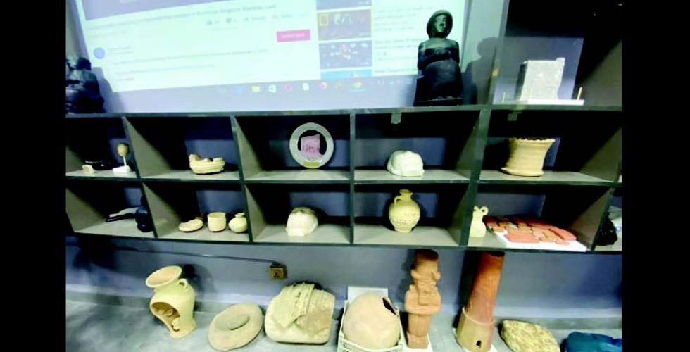 متحف الآثار.. فخاريات ومنحوتات تنبض بالتاريخ