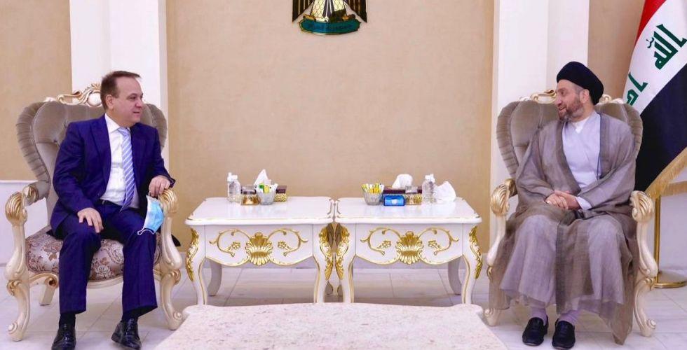 الحكيم والسفير اللبناني يبحثان العلاقات الثنائيَّة والمصالح المشتركة