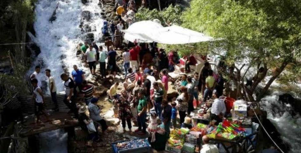 الاف السياح يتوجهون صوب كردستان بمناسبة عيد الاضحى