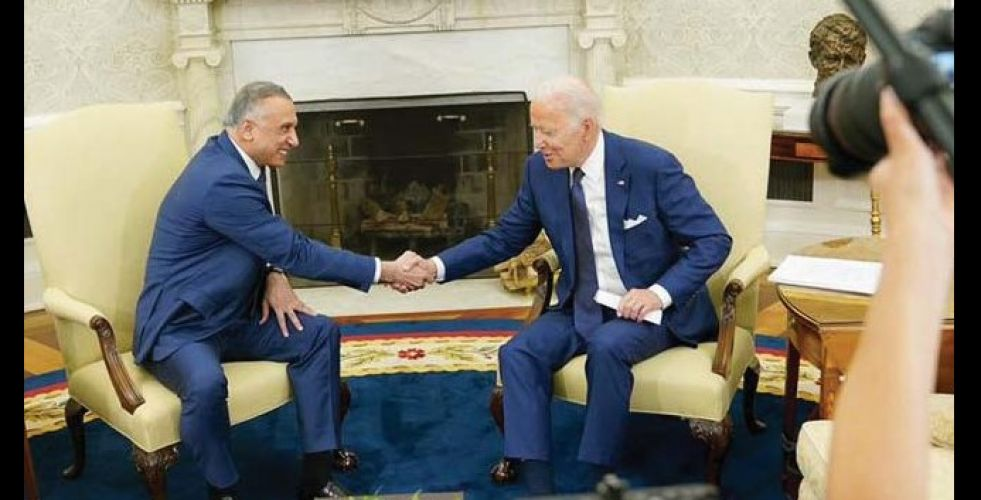 Al-Kazemi and Biden document the strategic partnership between the two countries