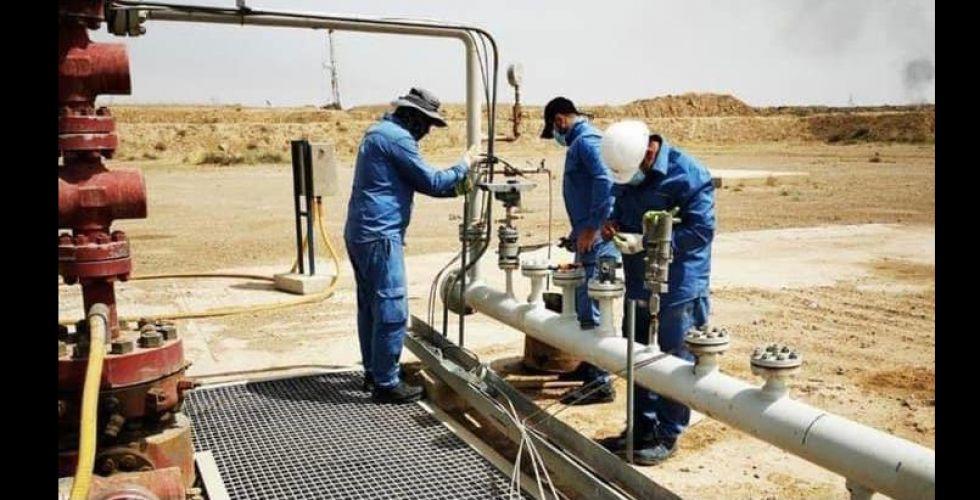 صيانة ٣٠ بئراً نفطية  في حقول ميسان