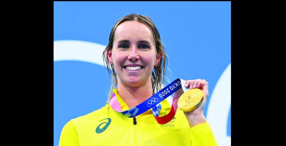 السباحة ماكيون تقود أستراليا إلى الذهبية