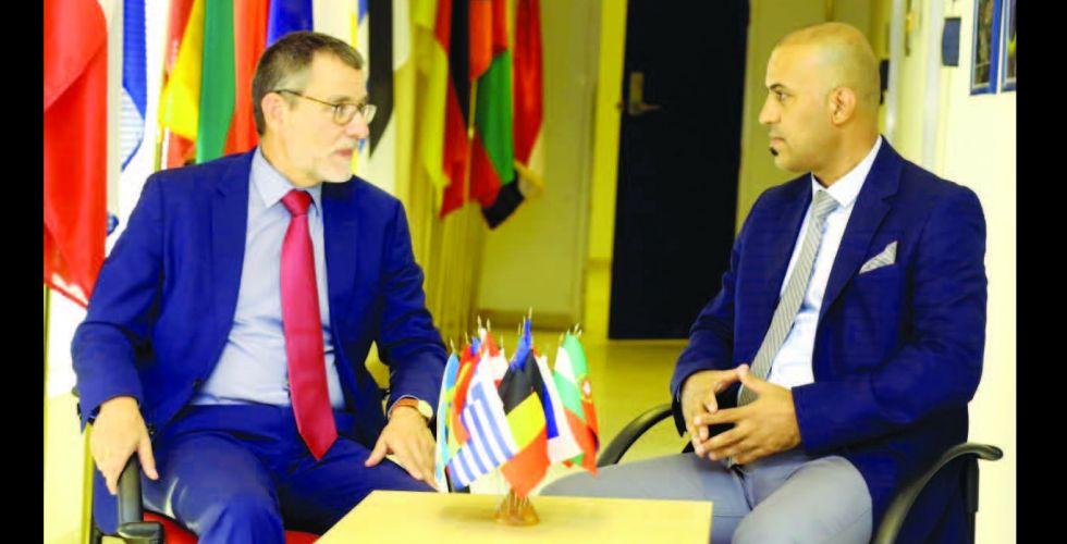 سفير الاتحاد الاوروبي لـ {  الصباح  } .. ندعم إجراء الانتخابات المبكّرة والحوار  بين بغداد وواشنطن