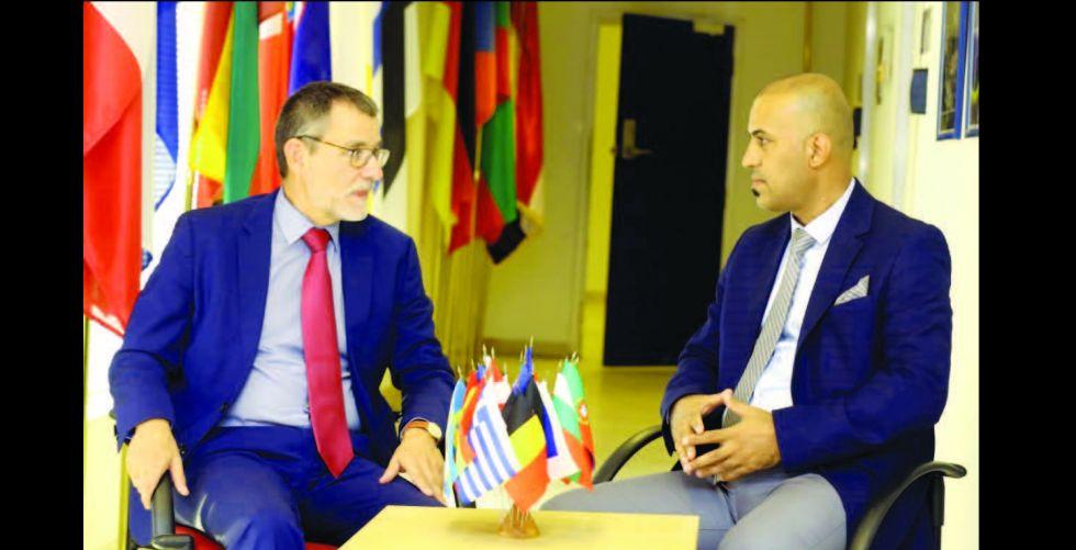 مارتن هوت لـ « الصباح »:الاتحاد الأوروبي يدعم الانتخابات المبكِّرة وحوار بغداد وواشنطن