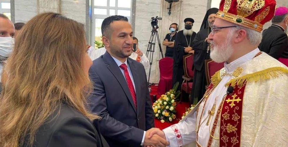 وفد أمناء شبكة الإعلام يشهد تنصيب بطريرك الكنيسة الآشوريَّة