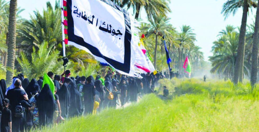 العتبة الحسينية تشرع بأعمال خدمية لتنظيم حركة الزائرين