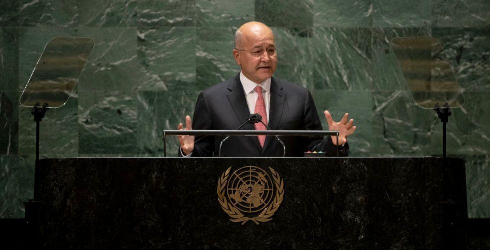 رئيس الجمهورية: لا سلام في المنطقة من دون عراق مستقر
