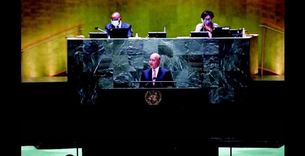 رئيس الجمهوريَّة: لا سلام في المنطقة من دون عراق مستقر