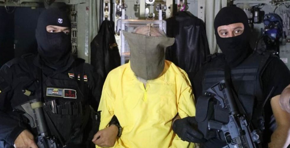 Al-Baghdadi's deputy in the intelligence trap
