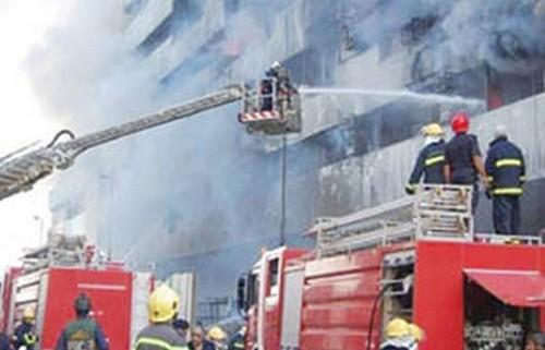 خطة للحد من حوادث الحرائق في الأسواق والمحال التجارية