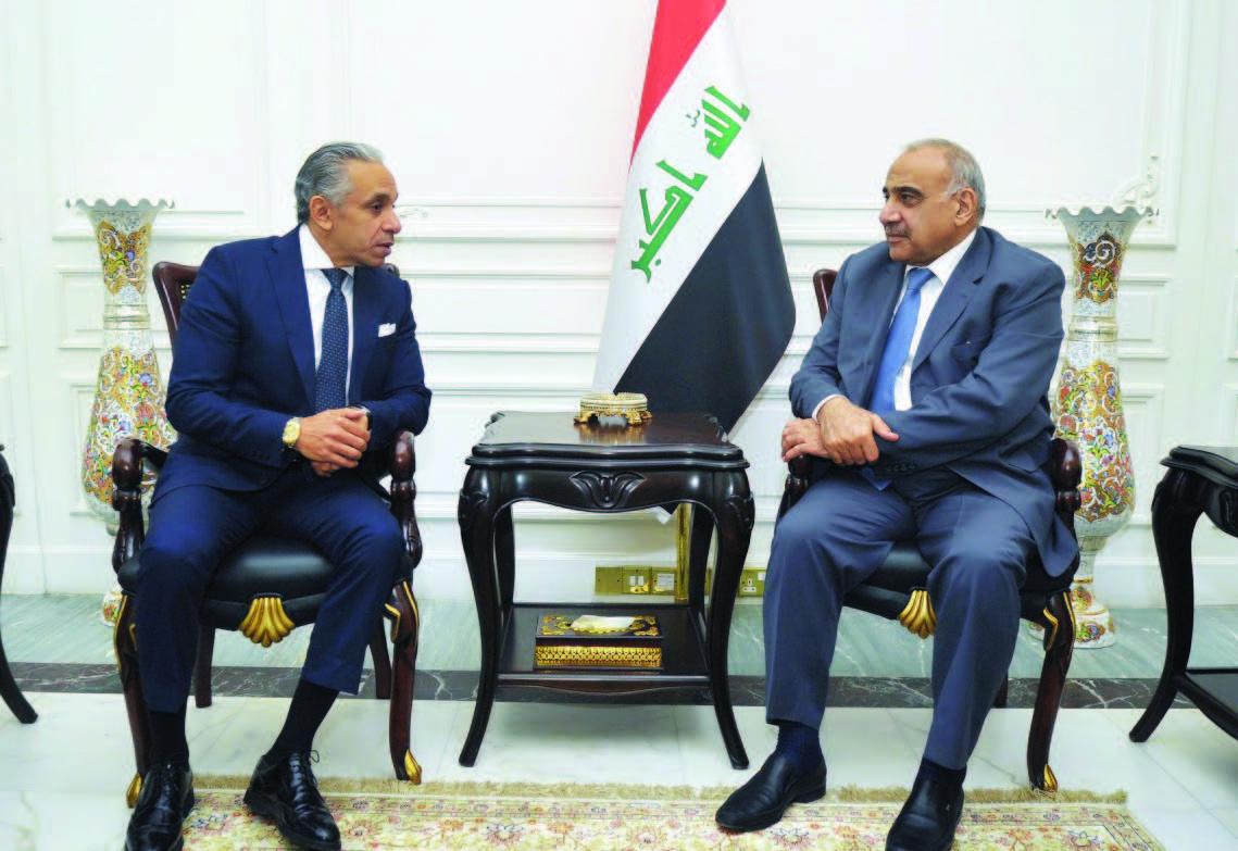 عبد المهدي يدعو مصر والأردن لتعزيز التعاون في مجالات الاقتصاد والطاقة