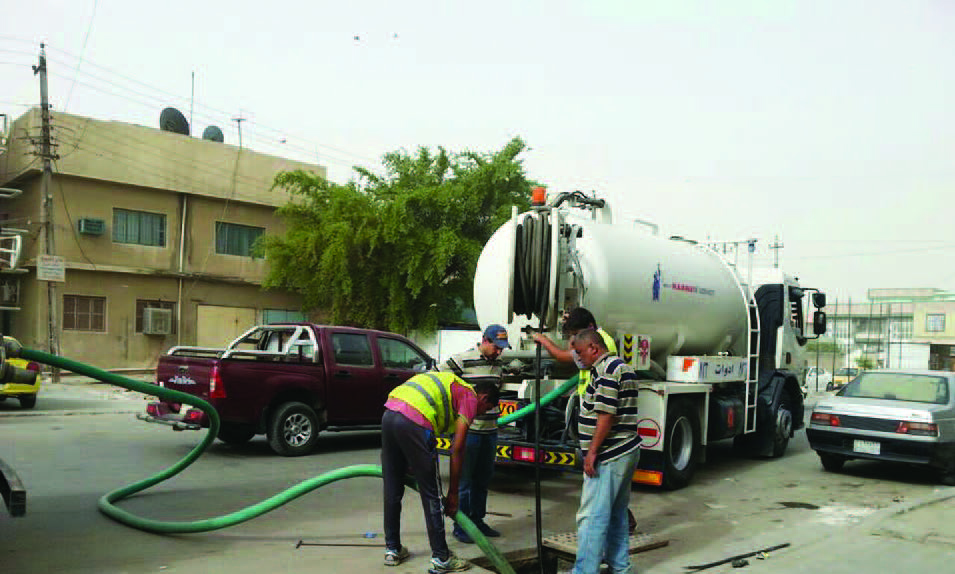 استعدادات مكثفة في بغداد والمحافظات لتطويق آثار الأمطار