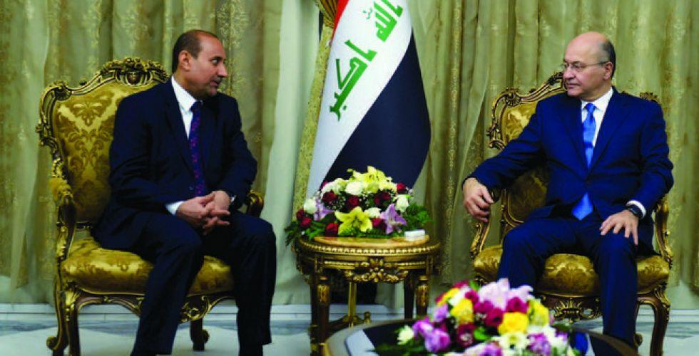 صالح يشدد على ضرورة إعادة الوجه المشرق للعاصمة بغداد