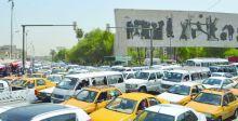 الزحام المروري يخنق شوارع بغداد
