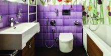 تخزين مستحضرات  النظافة والتجميل داخل الحمام