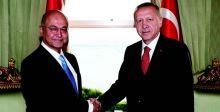 صالح يؤكد لاردوغان رفض أي عمل عسكري  يتجاوز الحدود العراقية