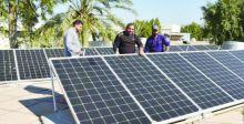 المعهد التقني بالكوت يدشن مشروع الخلايا الشمسية