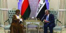 العراق وعُمان يشددان على ضرورة حل أزمات المنطقة