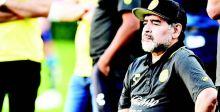 مارادونا يترك تدريب دورادوس المكسيكي