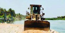 تنظيف نهر الإسحاقي لإيصال ماء السقي الى التاجي