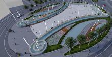 تقديم تصميم معماري لمشروع ساحة الفردوس