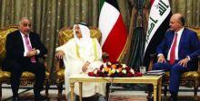أمير الكويت في زيارة تاريخية إلى بغداد