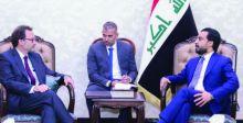 الحلبوسي يستقبل مساعد وزير الخارجية  الأميركي لشؤون الشرق الأدنى