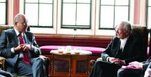 صالح: ندعم إقامة دولة فلسطينية وسياسة النأي بالنفس غير عملية
