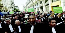 تظاهرات في الجزائر للمطالبة باستقلالية القضاء