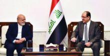 المالكي يستقبل سفير إيران لدى العراق