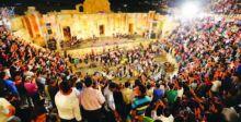 مهرجان جرش يوقد شعلته الرابعة والثلاثين