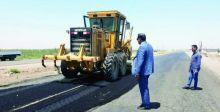 توسيع مقطع من طريق كوت - بغداد وإنشاء مجسرات