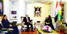 حداد يؤكد أهمية تعزيز التعاون مع برلمان الإقليم