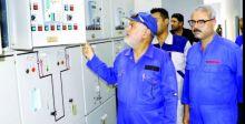 نصب محطات كهرباء جديدة في النجف وميسان