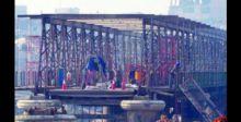 إعمار الجسر العتيق في الموصل