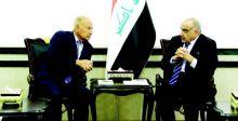العراق والجامعة العربية يبحثان أبرز ملفات المنطقة