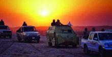 عملية أمنية لتعقب {ارهابيين} في جزيرة البغدادي