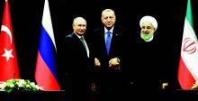قمة أنقرة تتمسك بوحدة سوريا والحل السياسي