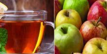 الشاي والتفاح يحميان من السرطان