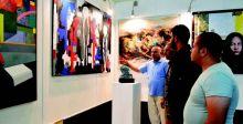 «فضاءات حرَّة».. أكبر معرض تشكيلي في كولبنكيان