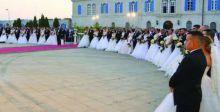 حفلات العرس الجماعي تلقى رواجاً في لبنان
