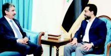 الحلبوسي يستعرض مع السفير الكويتي «التنسيق البرلماني الدولي»