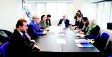 حداد يبحث مع حلف «الناتو» التعاون المشترك